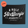Air Banjo Academy wall Tapestry