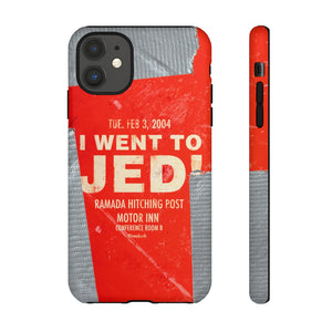 Jed Talks Phone Case