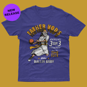 Father Yod's 3 On 3 Tee
