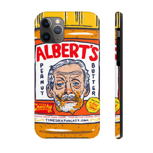 Albert's Crunchy Phone Case