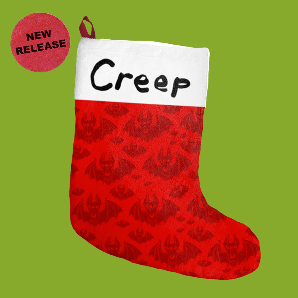 Creep Holiday Stocking