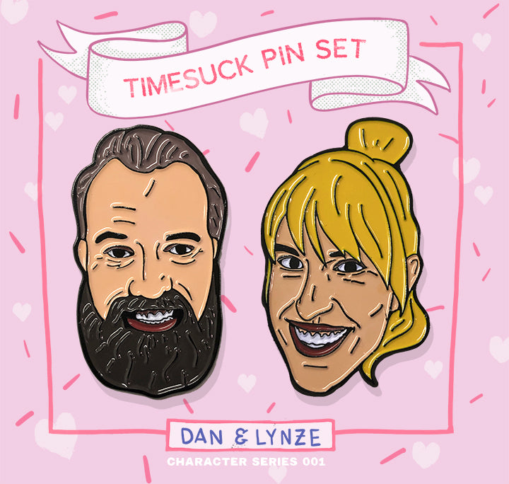 Dan & Lynze Pin Set