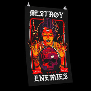 Destroy Your Enemies Poster