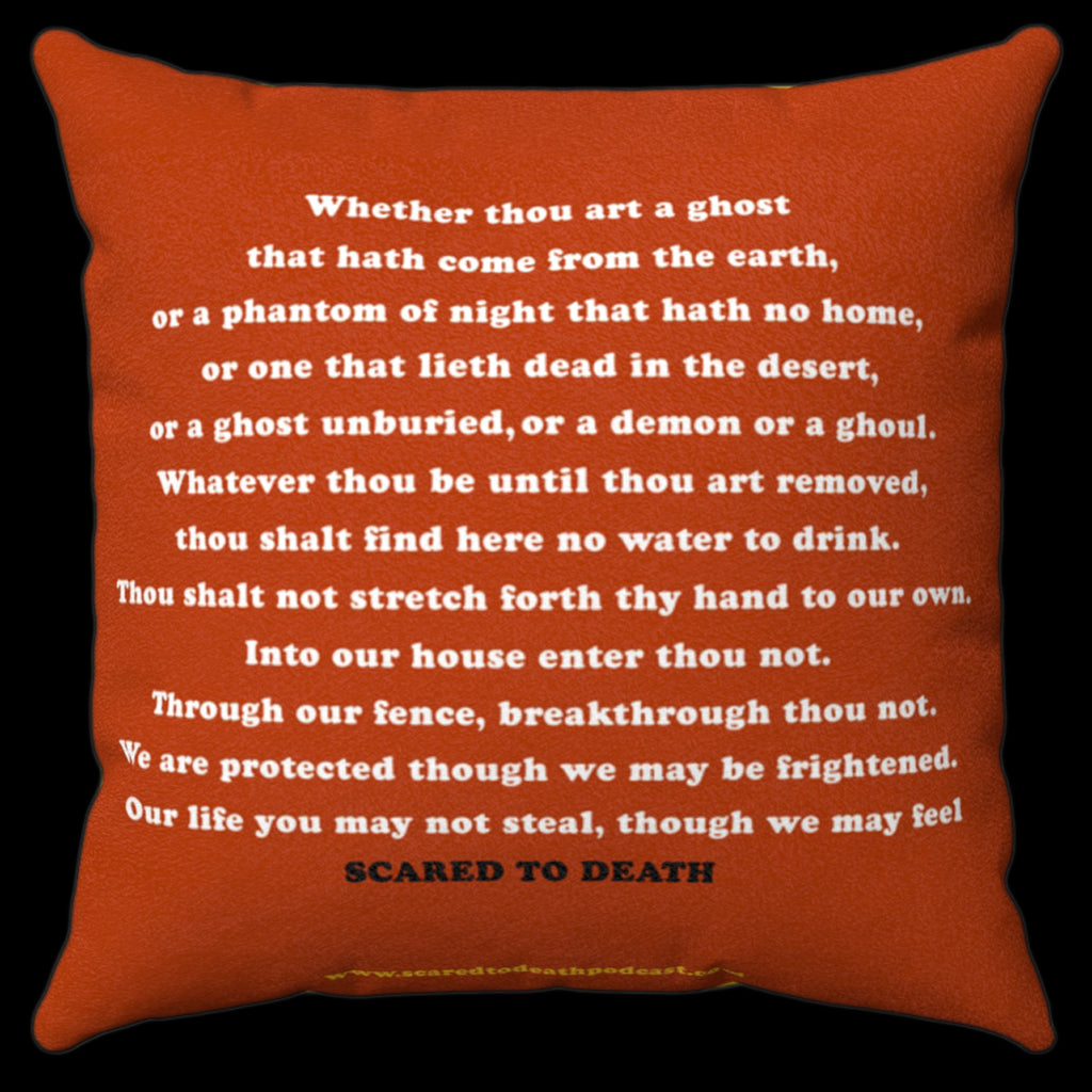 Jumbo Book Of Ghosts Pillow