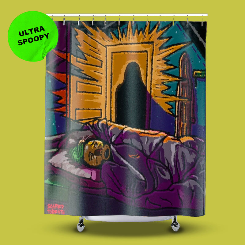 Get. Out! Shower Curtain