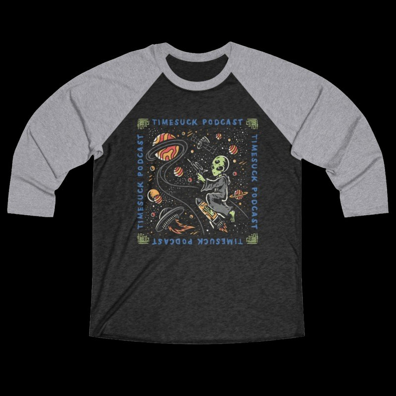 Among The Stars Raglan