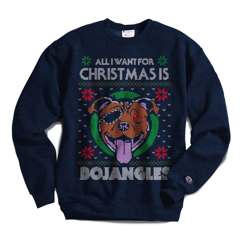 Bojangles Christmas Sweater