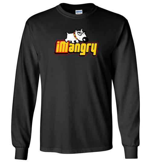 iMangry Boy's L/S T-Shirt