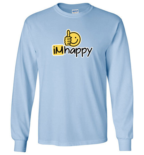 iMhappy Boy's L/S T-Shirt