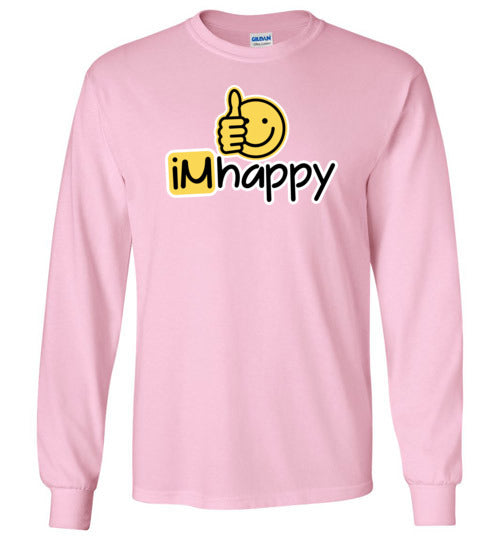 iMhappy Girls L/S Tee