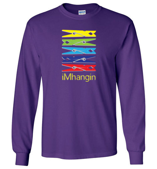 iMhangin Girls L/S Tee