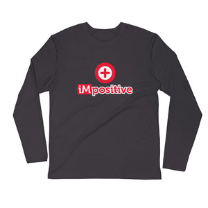 iMpositive Men's L/S Fitted Tee