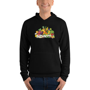 iMhealthy Men's Pull Over Hoodie