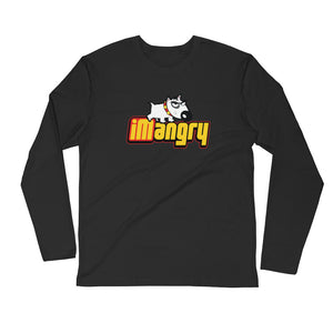 iMangry Men's L/S Fitted Tee