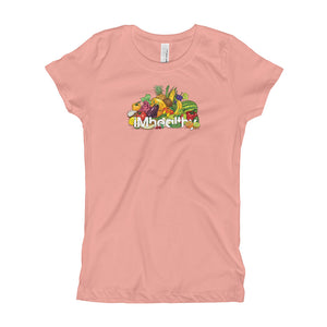 iMhealthy Girl's Short Sleeve T-Shirt