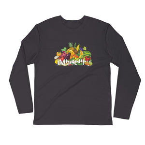 iMhealthy L/S Fitted Tee
