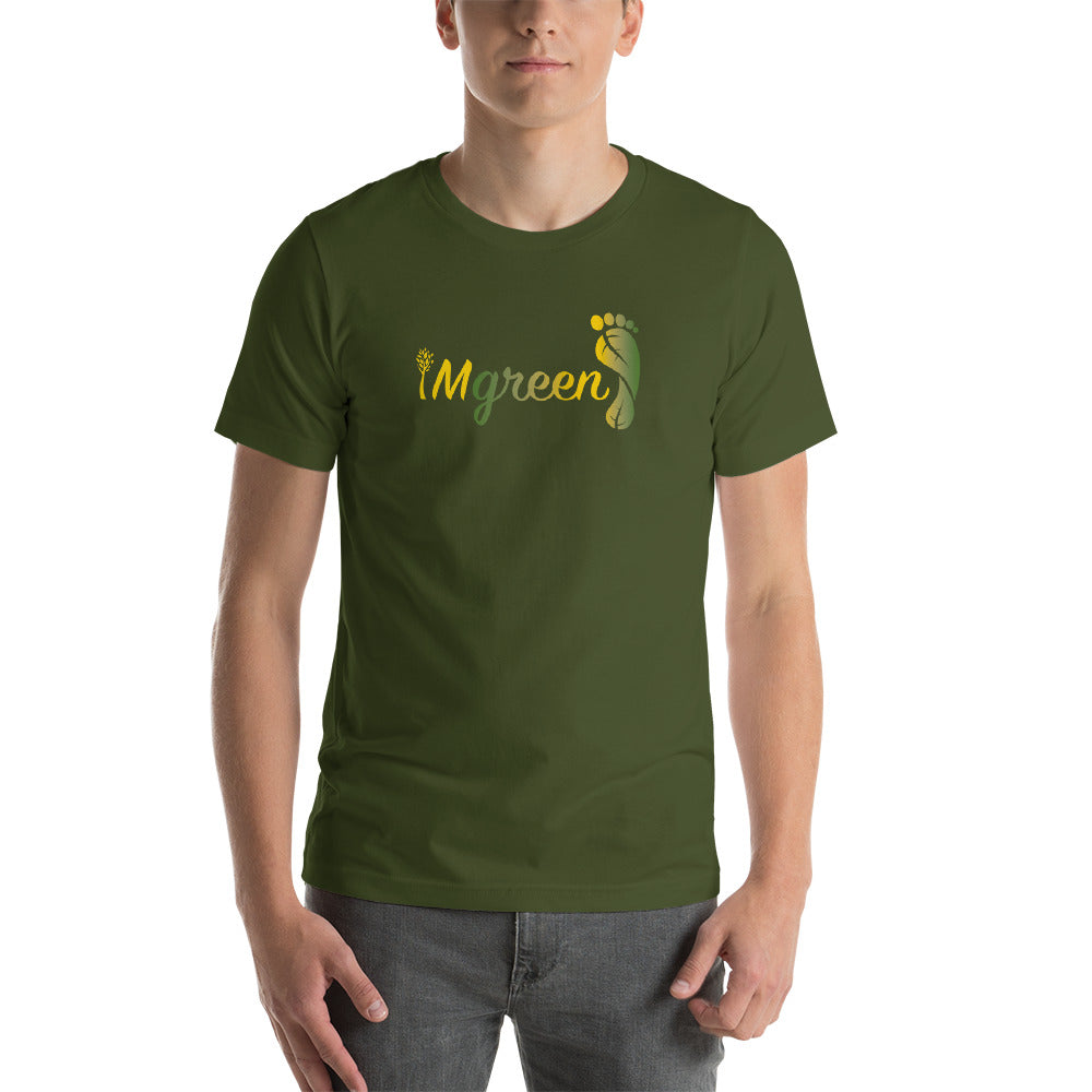 iMgreen Men's Short Sleeve T-Shirt