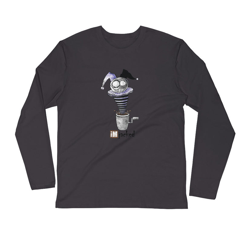 iMjacked Men's L/S Fitted Tee