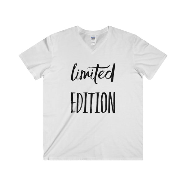 Limited Edition Unisex Fitted V-Neck Short Sleeve Tee - Libby and Dot Collections
