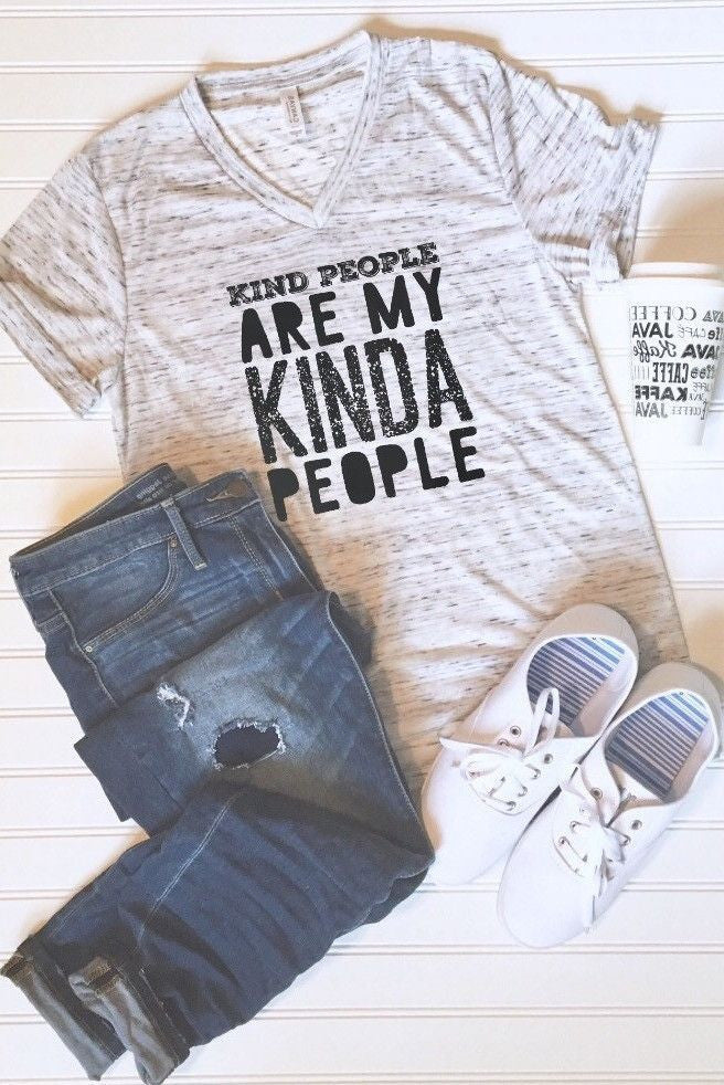 Kind People are my Kinda People Graphic Tee - Libby and Dot Collections