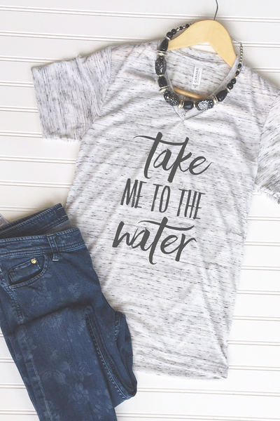Take Me to the Water Graphic Tee - Libby and Dot Collections