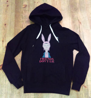 Boy Parker Own Brand - El-louise Black Hoodie