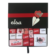 Load image into Gallery viewer, Rose & Red Love Chocolate Box