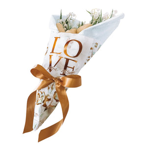 I Love You Mom - Chocolate Flowers Bouquet (12 or 16 flowers)