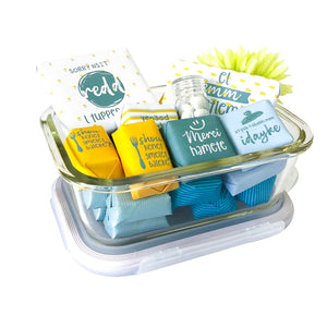 Hamete's Chocolate Tupperware - 2 sizes available
