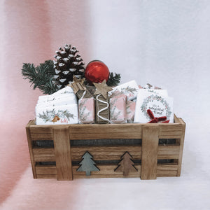 Christmas Medium Wooden Box