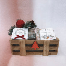 Load image into Gallery viewer, Christmas Small Wooden Box