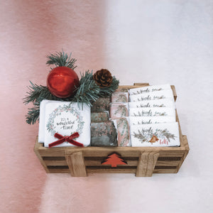 Christmas Small Wooden Box
