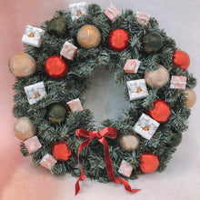 Load image into Gallery viewer, Chocolate Christmas Wreath