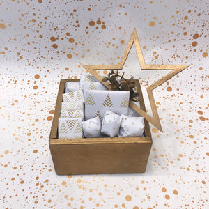 Small Golden Christmas Hamper