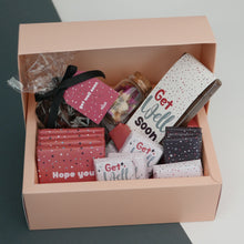Load image into Gallery viewer, Get Well Soon - Cardboard Chocolate Hamper