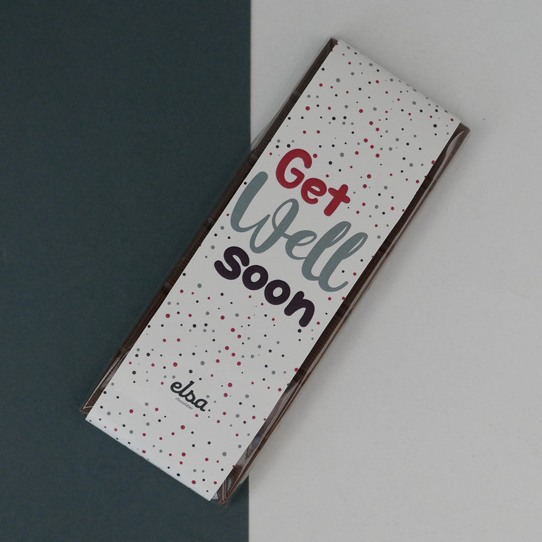 Get Well Soon - Chocolate Tablet