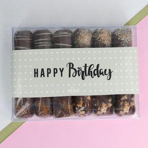 Let's Party - Birthday Chocolate Rolls