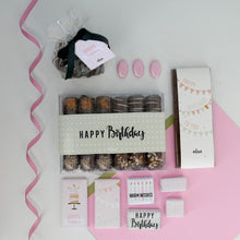 Load image into Gallery viewer, Let's Party - Cardboard Birthday Hamper