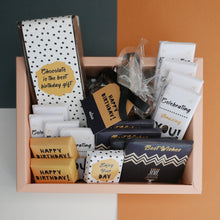 Load image into Gallery viewer, Celebrating Amazing You - Cardboard Birthday Hamper