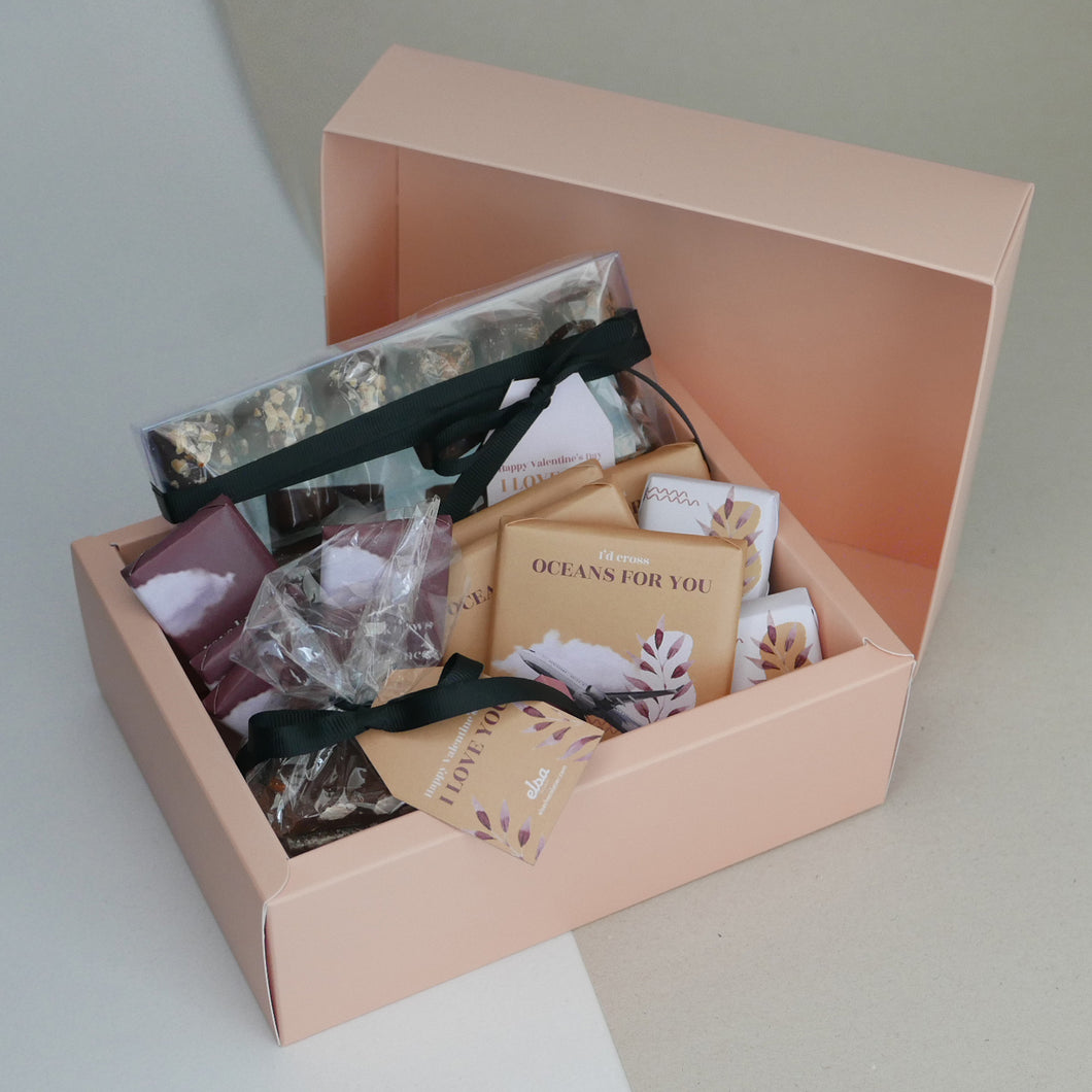 Long Distance - Cardboard Hamper