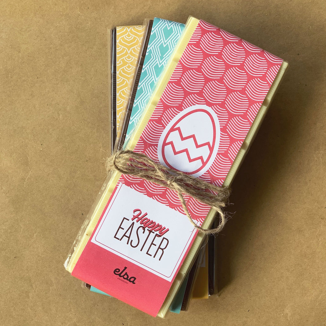 Triple Easter Chocolate Tablets