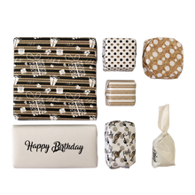 Load image into Gallery viewer, Birthday Gold and Confetti Plexi Box