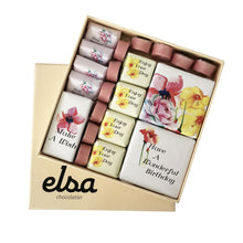 Load image into Gallery viewer, Floral Birthday chocolate Box