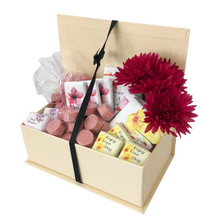 Load image into Gallery viewer, floral birthday chocolate hamper