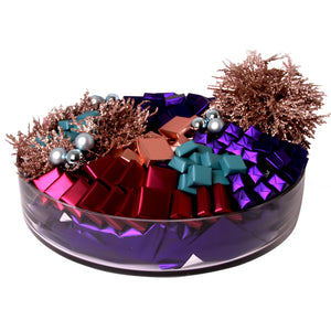 Colored Shiny Gems Bowl