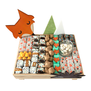 Fox Baby Chocolate Tray