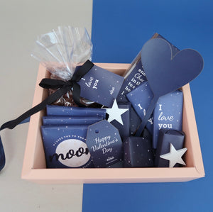 To The Moon - Cardboard Hamper