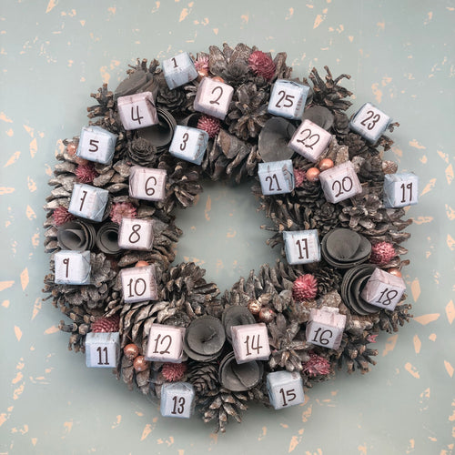 Wreath Advent Calendar
