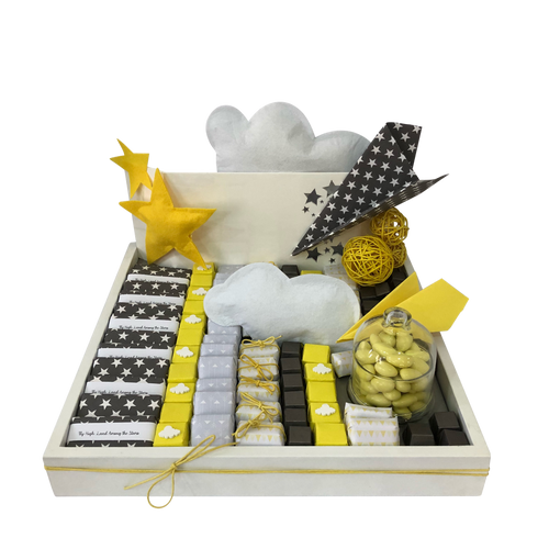 Paper Planes Baby Chocolate Tray