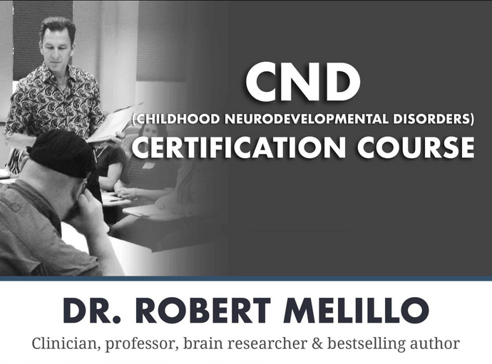 Childhood Neurodevelopmental Disorders Certification Course - Video REPLAY